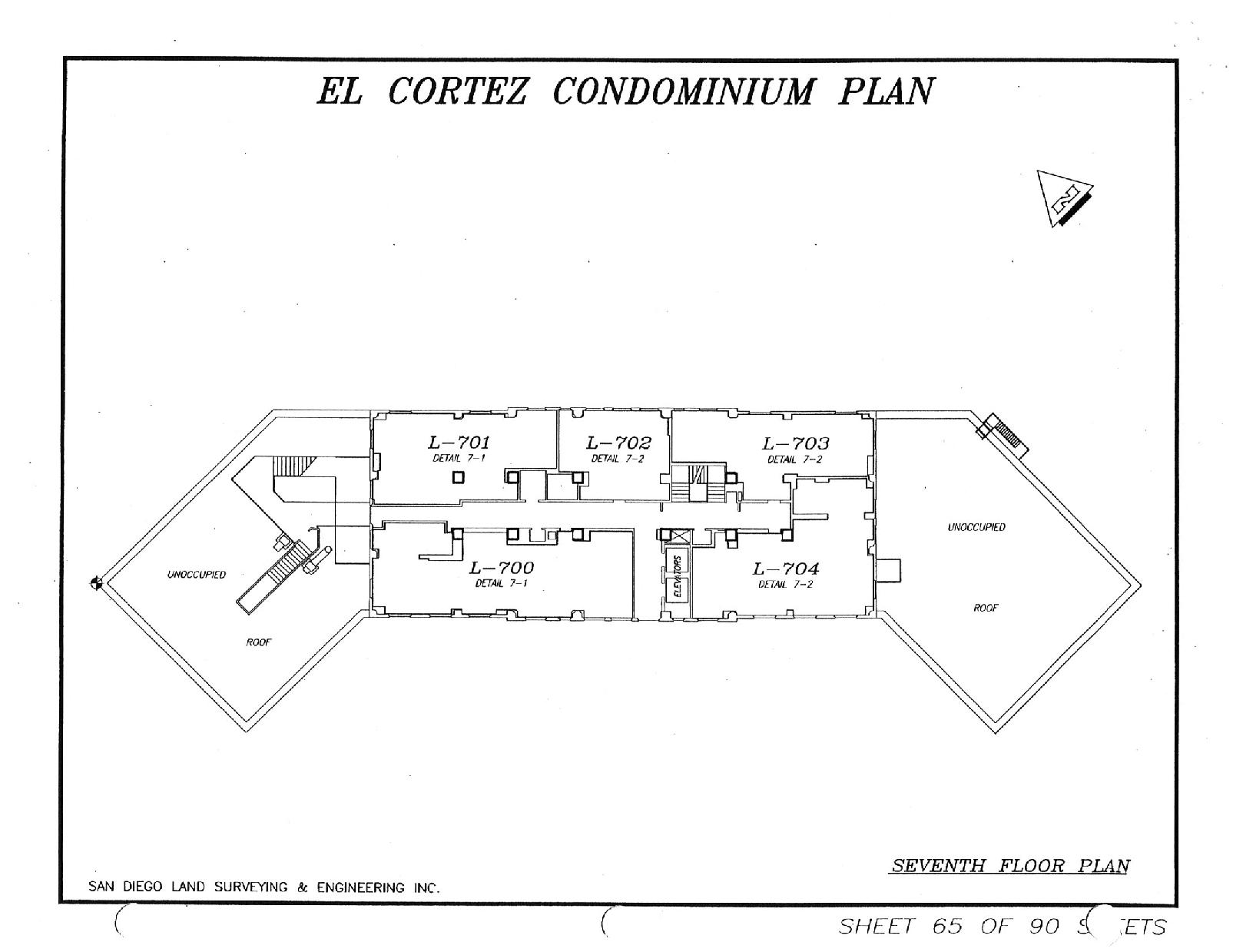 El Cortez Seventh Floor