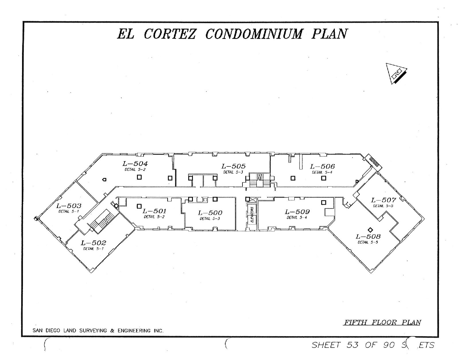 El Cortez Fifth Floor