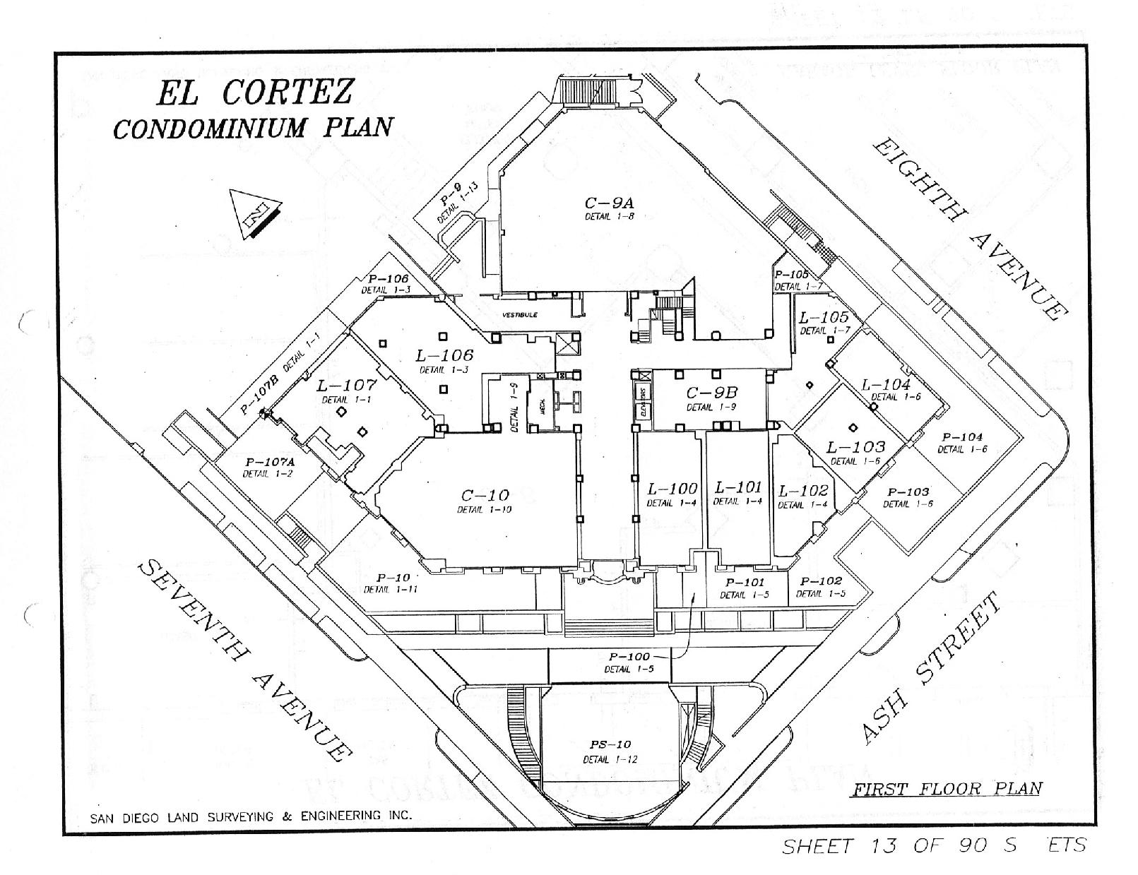 El Cortez First Floor