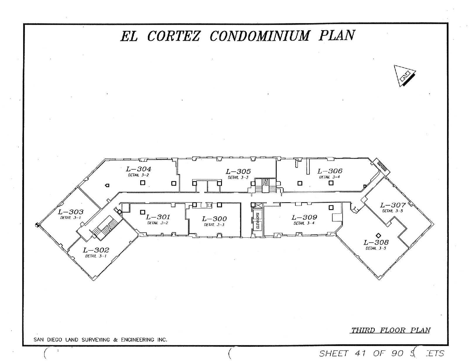 El Cortez Third Floor