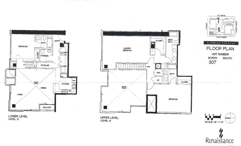 Renaissance Floor Plan Unit 307