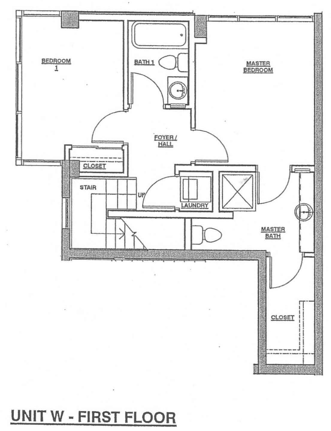 Fahrenheit Unit W – First Floor