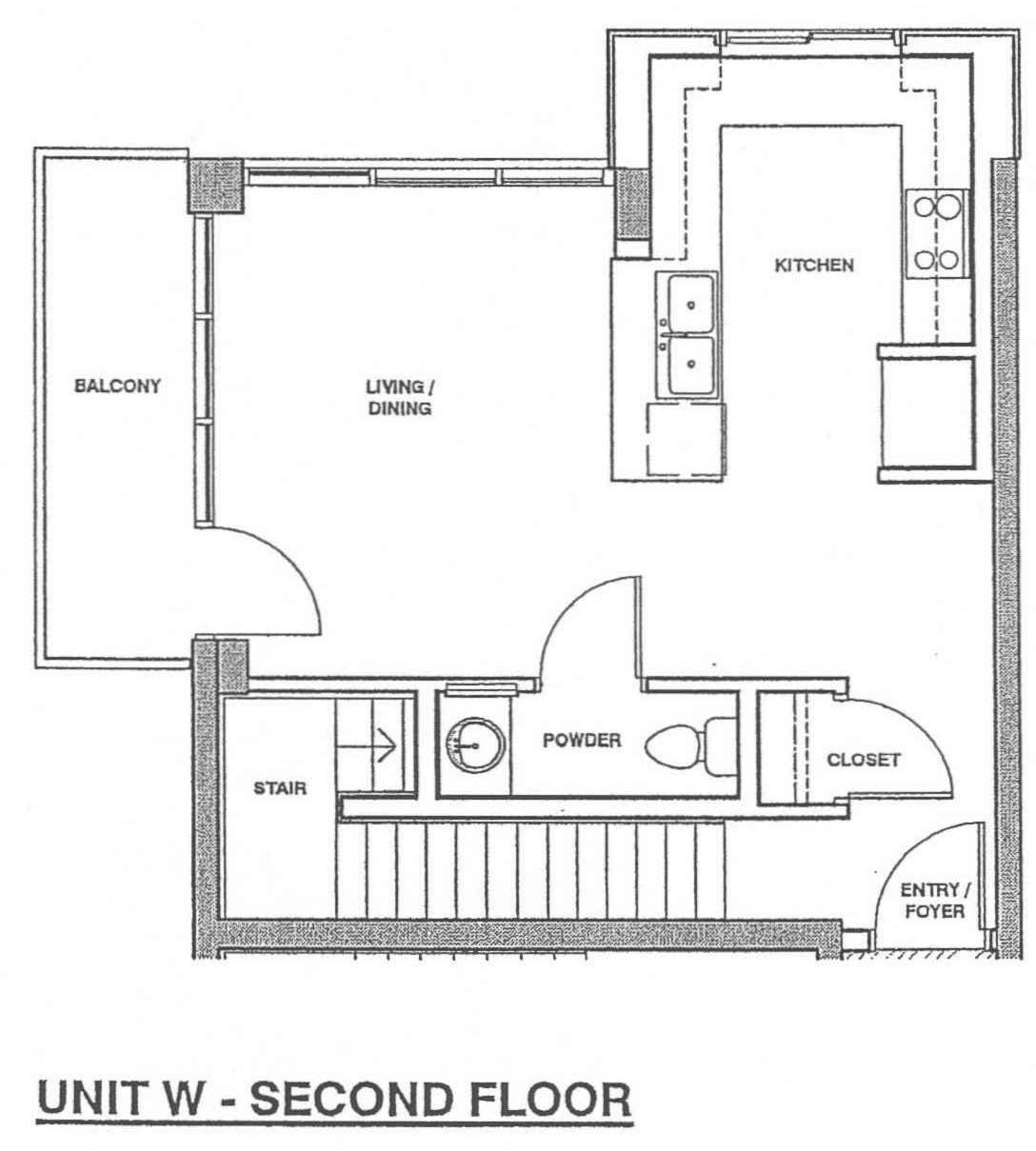 Fahrenheit Unit W – Second Floor