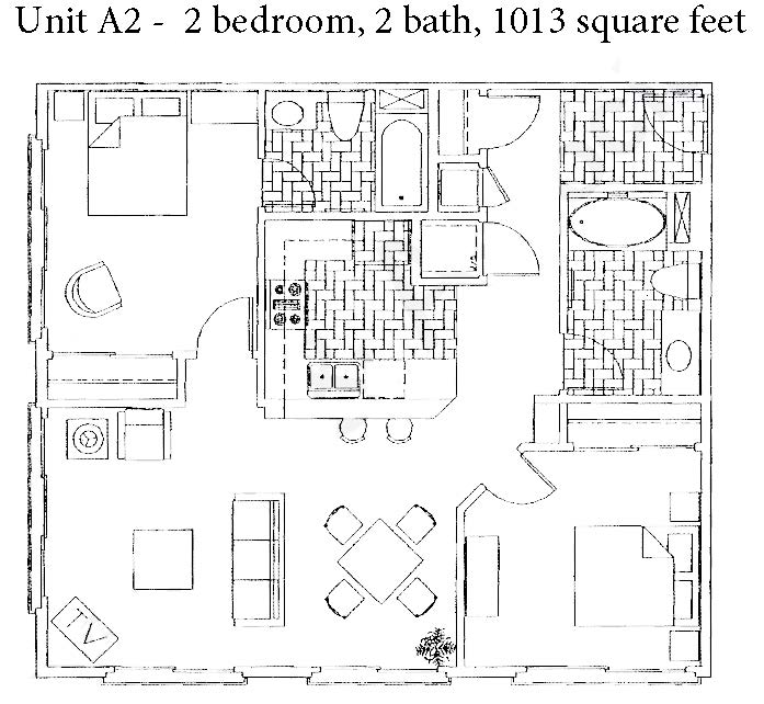 Gaslamp City Square – Unit A2